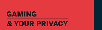 Image of the infographic: Gaming and your privacy
